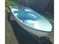 8ft Bonwitco dinghy and Seagull outboard
