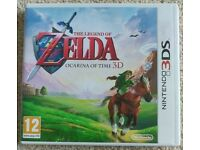 Nintendo 3DS game: The Legend of Zelda: Ocarina of Time 3D