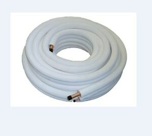 Air conditioner tube 1 4 1 2 insulated copper pipe 5mtr ebay for How to insulate copper pipes