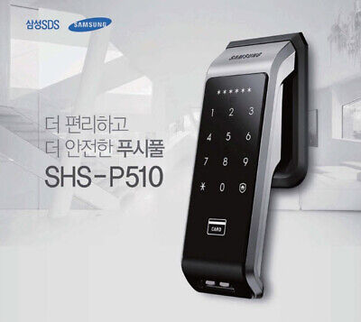 Samsung SHS-P510  Push Pull handle Smart  Touch  Door Lock + Tracking number.