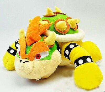 Super Mario Brother Bro. King Party Bowser Figure Koopa Plush Toy Doll 10