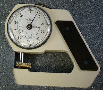 Hand Held Metric Dial Micrometer