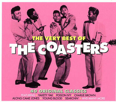 The Coasters VERY BEST OF 40 Original Classics POISON IVY Yakety Yak NEW 2 (The Coasters The Very Best Of The Coasters)