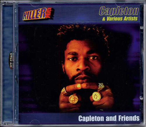 Capleton & Various – Capleton And Friends  New Mint Sealed, Cd With Booklet