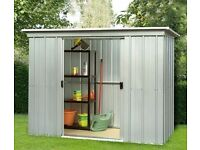 Yardmaster's 6x4ft store all metal shed - Store All PZ 6ft x 4ft brand new in box