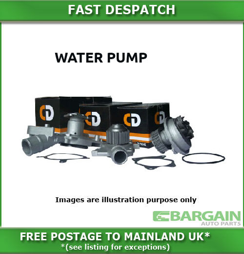 WATER PUMP FOR AUDI A2 1.6I FSI 2002-2005 3757CDWP76