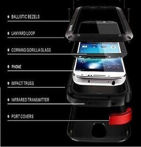 Impermeable-Antigolpes-Aluminio-Gorilla-Metal-Funda-para-Apple-iPhone-5-5g