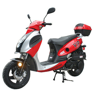 Brand New  149cc Scooter Moped 55MPH 80MPG Powermax 150 Free trunk Free S/H***