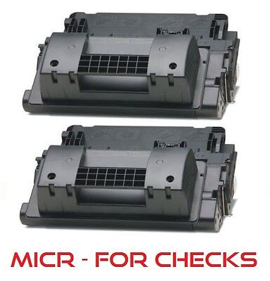 2pk - MICR Toner Cartridge (64A) for HP LaserJet P4015dn P4015n P4015tn P4015x