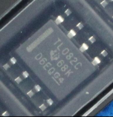 1 Pcs New Tl082c Tl082 Tl082cdr Sop8 Ic Chip