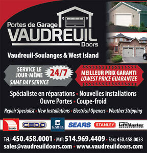Garage Door Repair West Island Reparations Portes De Garage West Island Greater Montréal image 4