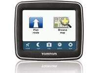 Small Tomtom with uk and Western Europe maps