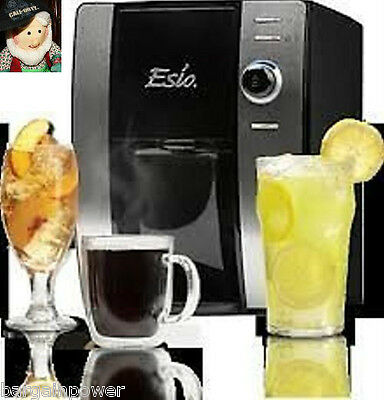 Esio Hot and Cold Countertop Drink Beverage System Christmas Present NEW