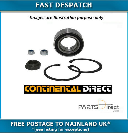REAR CONTINENTAL WHEEL BEARING KIT FOR BMW 123D 2.0TD 7/2007- 1117