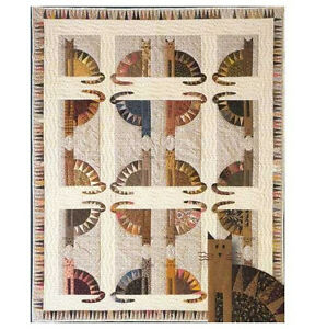 The City Stitcher Scrappy Quilt Pattern # 5~SAWTOOTH CATS ...