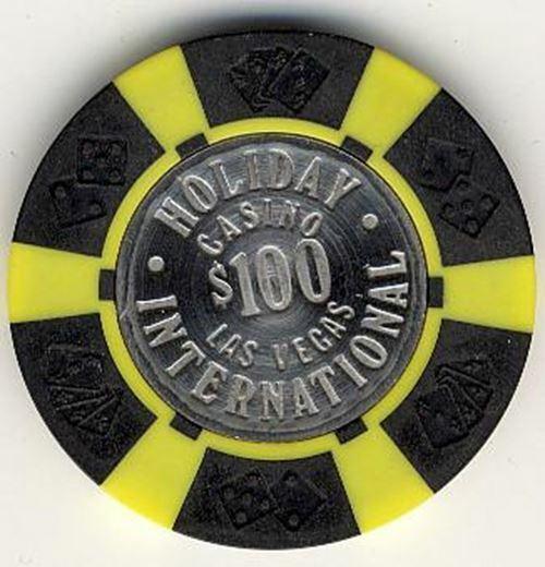 Holiday International Casino Las Vegas NV $100 Chip 1977