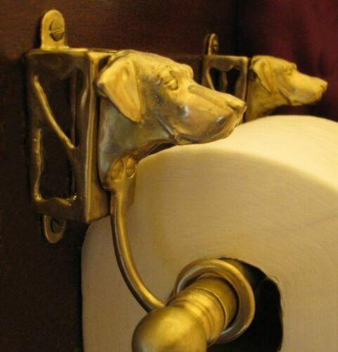 RHODESIAN RIDGEBACK Bronze Toilet Paper Holder OR Paper Towel Holder!