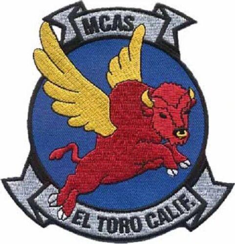 "USMC Marine Corps Air Station MCAS El Toro 4.5"" Patch - No Hook and Loop"