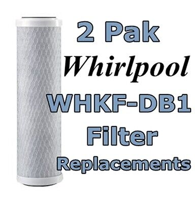 (2) Whirlpool Whkf-db1 Compatible Water Filter Cartridges...