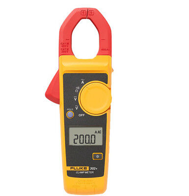 Fluke 302 With Coft Case Kch17 Handheld Digital Clamp Meter Multimeter Tester