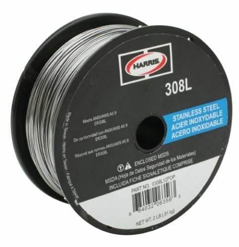 Harris 308L Stainless Steel Solid MIG Wire .035 10 lb. Spool