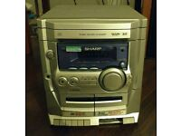 Sharp HiFi System CD-XP120