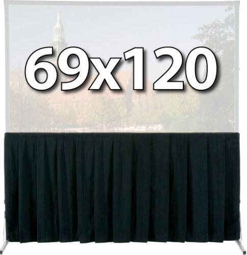 DA-LITE 36730 - SKIRT DRAPERY FOR 69x120 FAST-FOLD DELUXE SCREEN SYSTEM