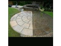 Power washed paths,drives and patios