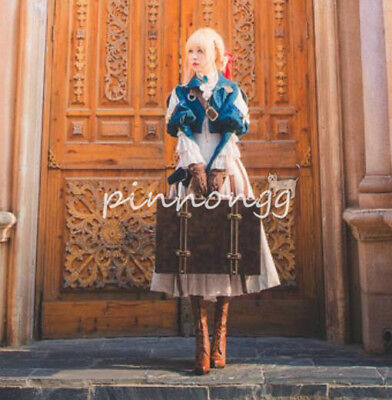 cosplay Kostüme Damen Violet Evergarden Auto Memories Doll Kleid Anime (China Doll Kostüm Kleid)