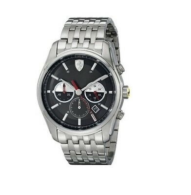 Scuderia Ferrari 0830197 Gtb C Sport Stainless Steel Chrono Chronograph Watch