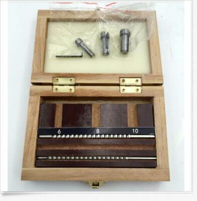6pcs Keyway Broach Set Metric Size 2pcs Broaches 3pcs Bushings 1pc Shim B