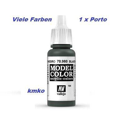 Vallejo 100 70.980 Tannengrün Dunkel Black Green 17ml 15,29 €/100ml