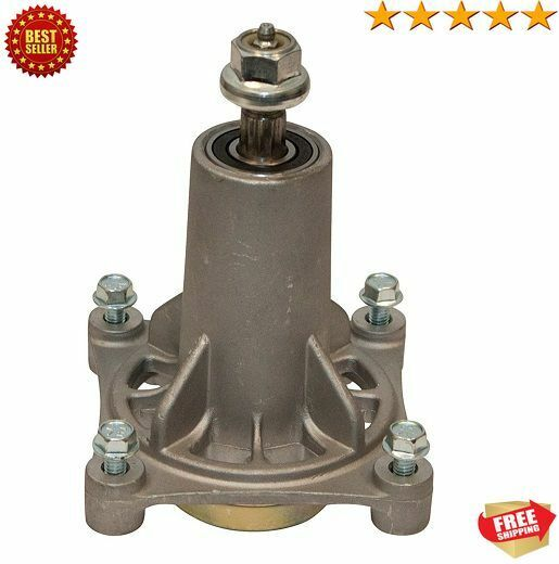 mower deck spindle for 54 inch mower
