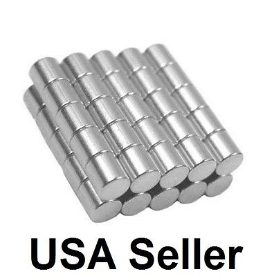 Lot 12 34 1 14 516 Neodymium Rare Earth Cylinder Disc Magnets N48 N50