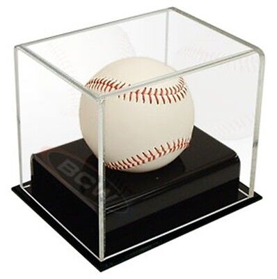 BCW Deluxe Acrylic Baseball Holder Display Case - UV Protection