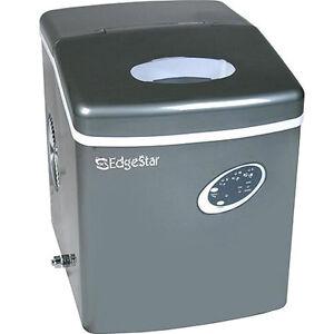 Portable-Countertop-Ice-Machine-EdgeStar-Compact-Cube-Maker-w-Titanium ...