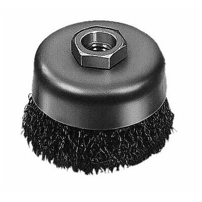 Milwaukee 48-52-1400 5 In. Crimped Wire Cup Brush- Carbon Steel - In Stock -