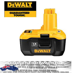 Dewalt 18V XRP Lithium Ion Nano Battery DC9180-XE