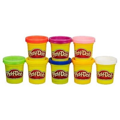 Play-Doh 4-Pack of Colors -Green, Blue, Yellow, Orange and Purple