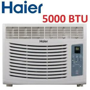 NEW* HAIER 5000 BTU AIR CONDITIONER HWR05XCR-L 250767217 AC WINDOW MOUNTED COOLING