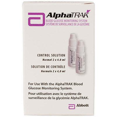 AlphaTrak 2 Control Solution Package of 2 Bottles