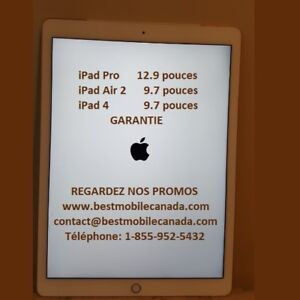 iPad Air® 2 iPad PRO from $319.99 to Chicoutimi