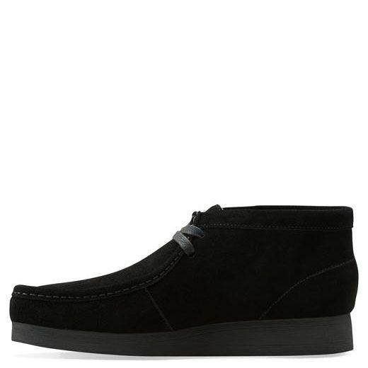 Clarks Originals Men's Stinson Hi Boot Black Suede 26063368