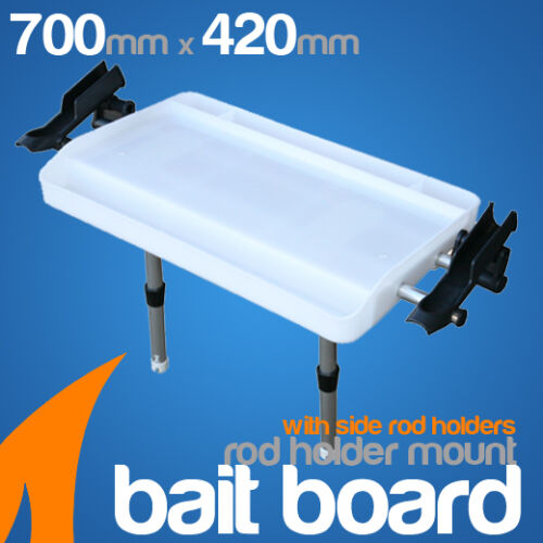 Use it WITHOUT DRILLING HOLES SeaSucker LARGE BAIT BOARD Vertical Mount