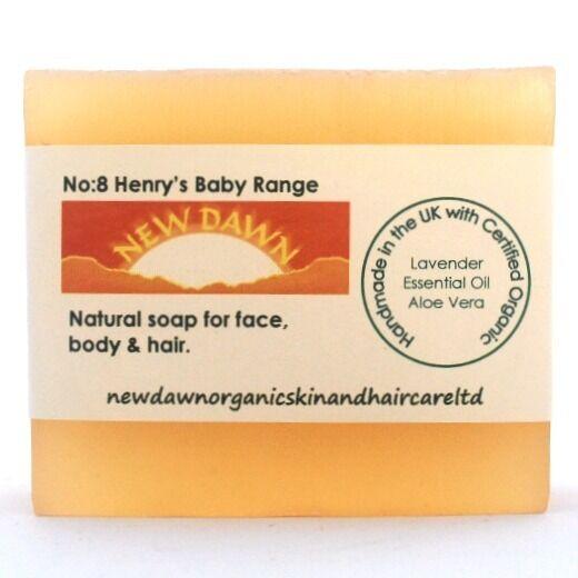 RASH relief Organic Baby Soap Flaky Scaly Skin /& Scalp CRADLE CAP DERMATITIS