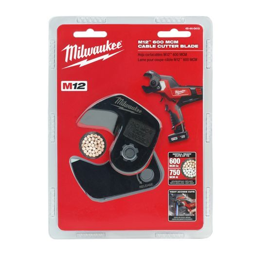 Milwaukee 48-44-0410 M12 600 MCM Cable Cutter Blades - IN STOCK