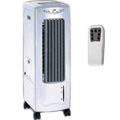Portable Air Cooler, Humidifier, Fan & Air Ionizer, Slim Cool Room Conditioner