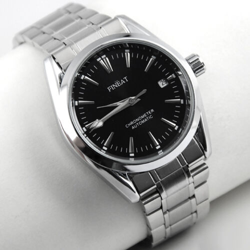 $19.99 - Rare Mens Automatic Mechanical Stainless Steel Luxury Wrist Watch Calendar DAY