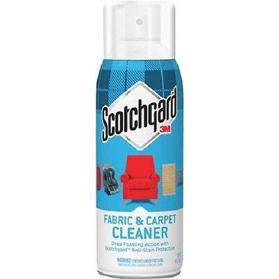 (SCOTCHGARD FABRIC & CARPET CLEANER 3M * 14 OZ SPRAY *)