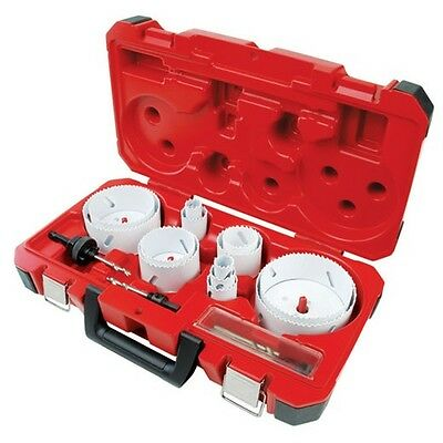 Milwaukee 49-22-4155 18 Pc. Master Plumbers Ice Hard Hole Saw Kit - In Stock